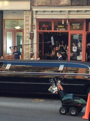 Gossip Girl Set - March 20, 2012.