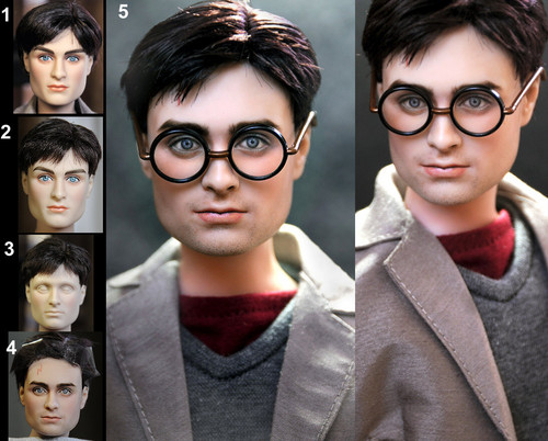 Harry Potter Doll Repaint