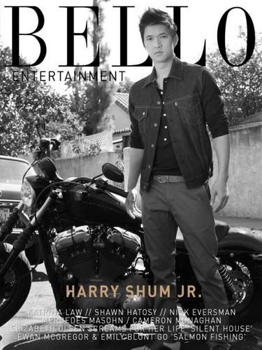 Harry in Bello magazine