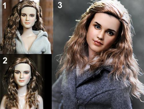 Hermione Granger Doll Repaint