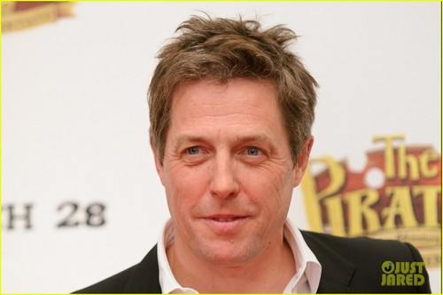 Hugh Grant attend the UK premiere of The Pirates! In an Adventure With Scientists