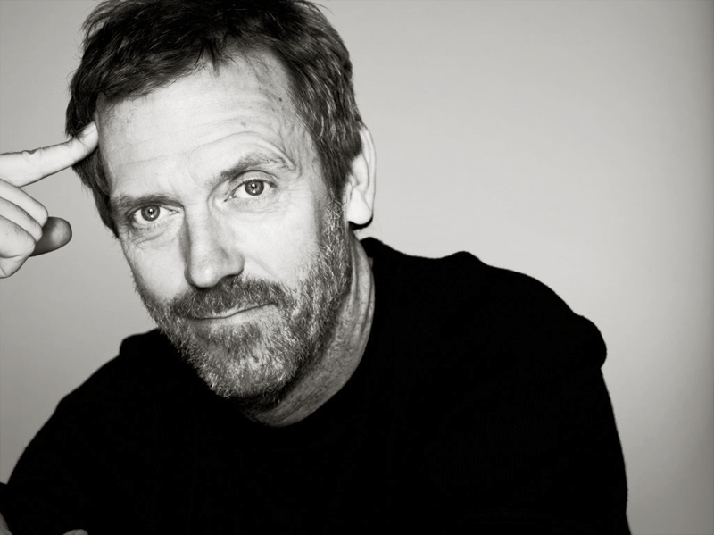 if Hugh Laurie was you...
