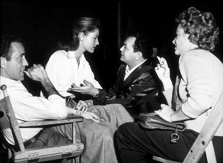 Humphrey Bogart, Lauren Bacall, Edward G. Robinson & Claire Trevor