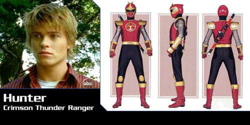 Hunter Bradley (Power Rangers Ninja Storm)