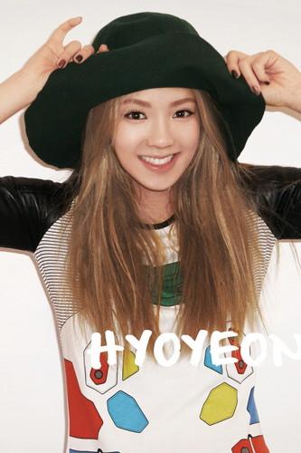 Hyoyeon @ 2012 Girls' Generation iOS Diary Application