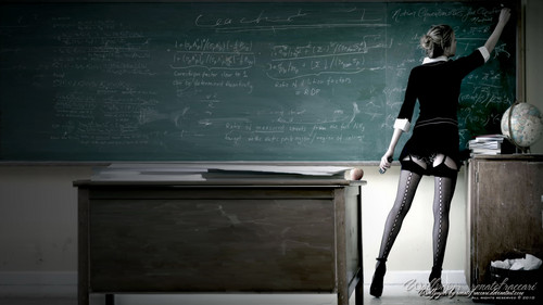 I wish my teacher looked like this ;)