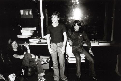 In the studio - ac-dc Photo