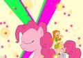 Izzy meets Pinkie Pie - total-drama-island fan art