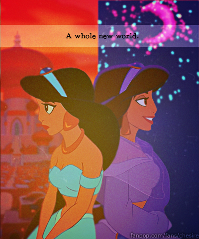 Aladdin wallpaper possibly containing anime titled Jasmine