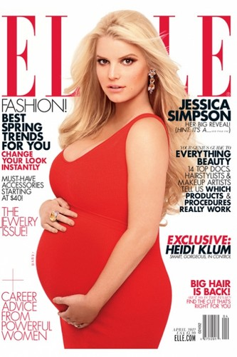 Jessica Simpson wallpaper with a portrait entitled Jessica - Carter Smith Photoshoot for Elle 2012