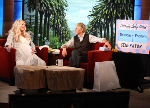 Jessica - Ellen DeGeneres onyesha - March 12, 2012