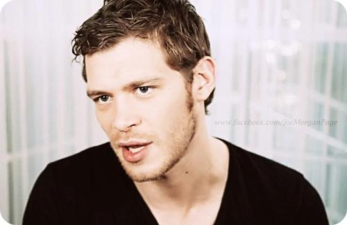 Joseph morgan (from TV Guide video interview)
