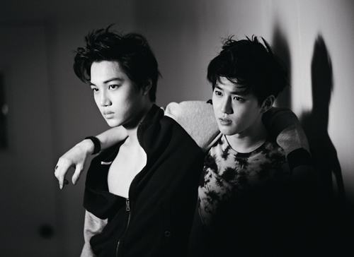 Kai & Suho @ High Cut - exo-k Photo