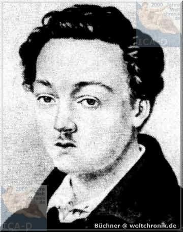 Karl Georg Büchner (17 October 1813 – 19 February 1837)