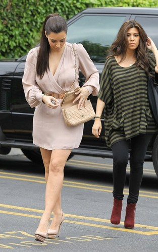 Kim and Koutney in Woodland Hills