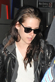 Kristen Stewart arriving at JFK Airport in New York - March 18, 2012.