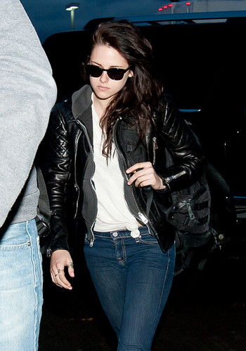 Kristen Stewart at LAX Airport in Los Angeles, California - March 18, 2012.