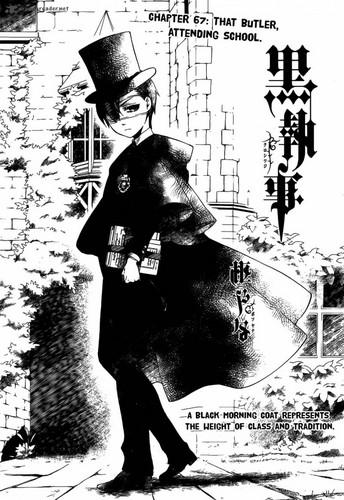 Kuroshitsuji manga cover chapter 67