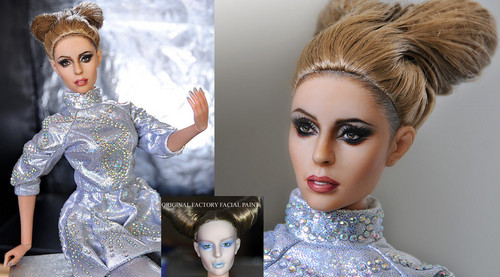 Lady Gaga Doll Repaint