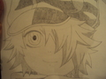 Lag Seeing Drawing - tegami-bachi fan art
