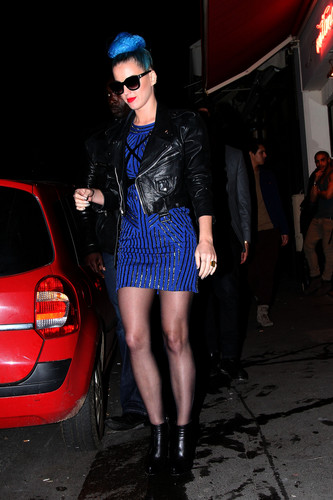 Leaving The Montana Club In Paris [20 March 2012]