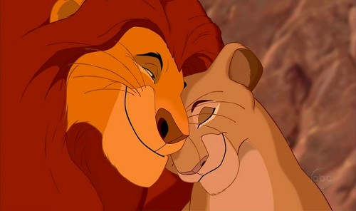 Disney Parents karatasi la kupamba ukuta titled Lion King