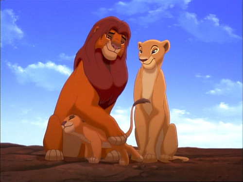 Disney Parents karatasi la kupamba ukuta called Lion King