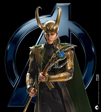 Loki (Thor 2011) wallpaper titled Loki in Avengers