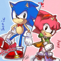 Love - sonic-and-amy fan art