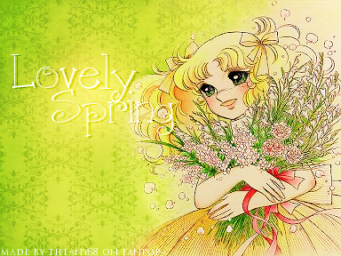doces doces wallpaper possibly containing animê titled Lovely Spring with doces