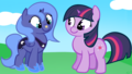 Luna and Twilight Fillies