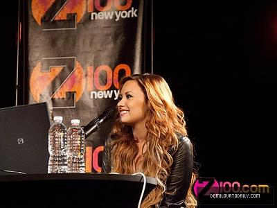 MARCH 8TH - Z100 New York Live Chat - Demi Lovato Photo ...