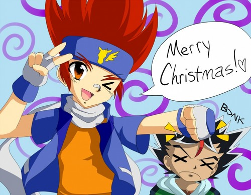 Beyblade Metal Fusion wallpaper with anime titled MERRY CHRISTMAS!!! <3