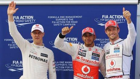 Michael Schumacher wallpaper called Malaysian GP 2012