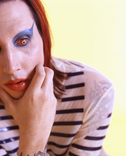 Marilyn Manson wallpaper probably with a portrait titled Marilyn Manson