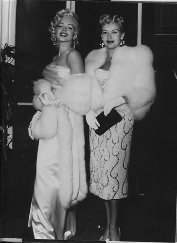 Marilyn Monroe & Betty Grable
