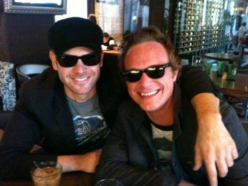 Matt Davis and David Anders