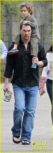 Matthew McConaughey: Sunday Family Time
