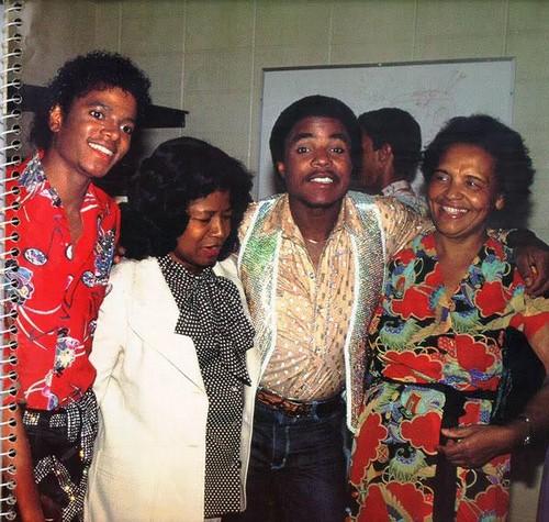 Michael Jackson, Katherine Jackson and Tito Jackson