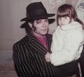 Michael Jackson with a fan - michael-jackson photo