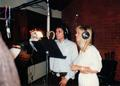 Michael in July 1987 during the recording of Je Ne Veux Pas La Fin De Nous, the French version of th - michael-jackson photo