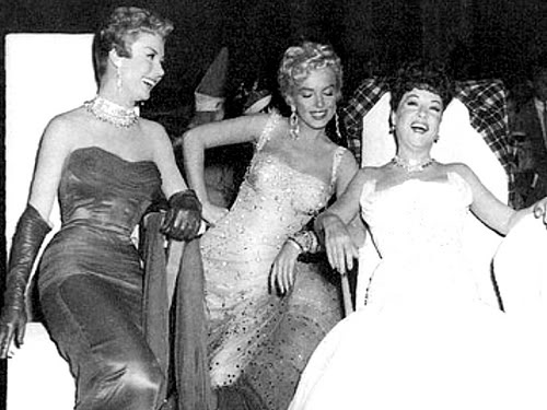Mitzi Gaynor, Marilyn Monroe & Ethel Merman