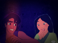 mulan and aladdín