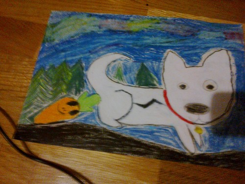 My litlle sister drawn this!
