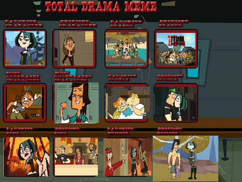 My total drama meme