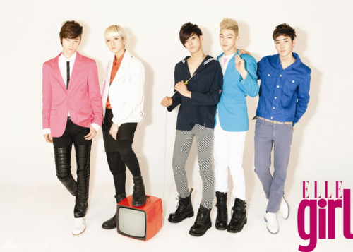 NU'EST Elle girl Magazine! - nuest photo