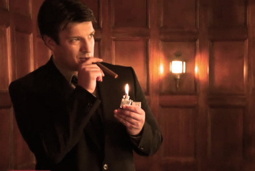 Nathan Fillion 壁纸 probably containing a business suit called Nathan <33