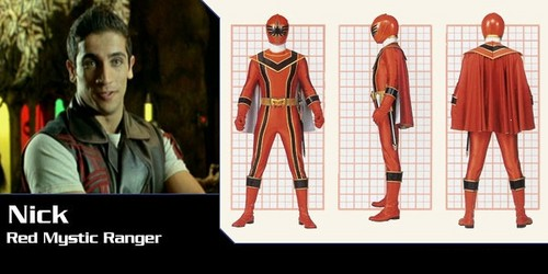 Nick Russell (Power Rangers Mystic Force)