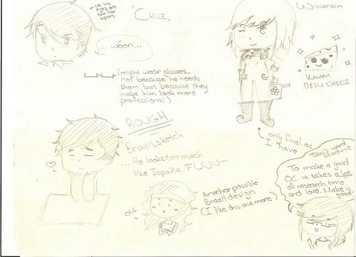 OC concepts - hetalia-fan-characters Photo