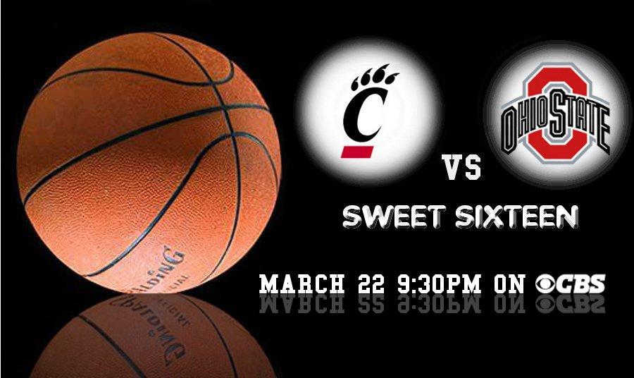 OSU vs Cincinnati Sweet Sixteen